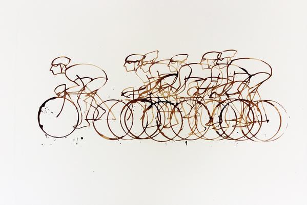 cykel-tavla